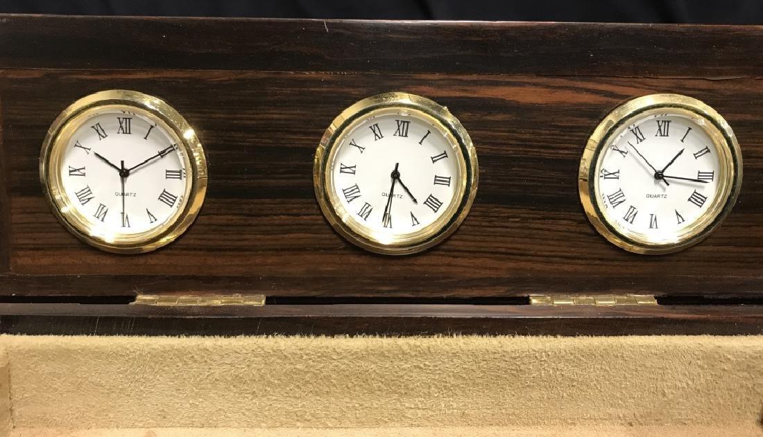 Shinnecock Hills Clock Rosewood Box - 6