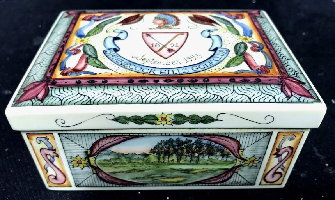 Shinnecock Hills Painted Keepsake Box