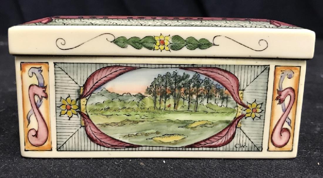 Shinnecock Hills Painted Keepsake Box - 2