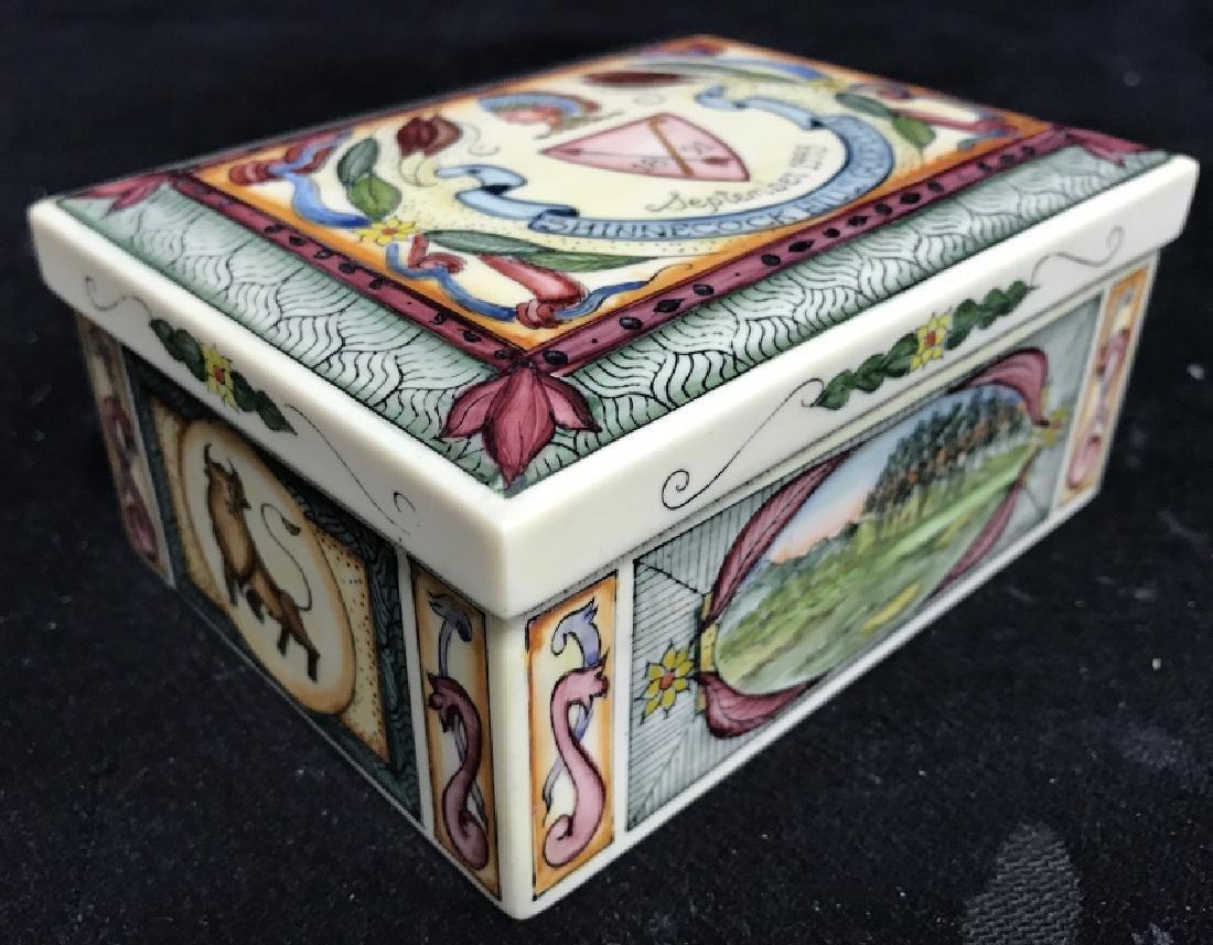 Shinnecock Hills Painted Keepsake Box - 3