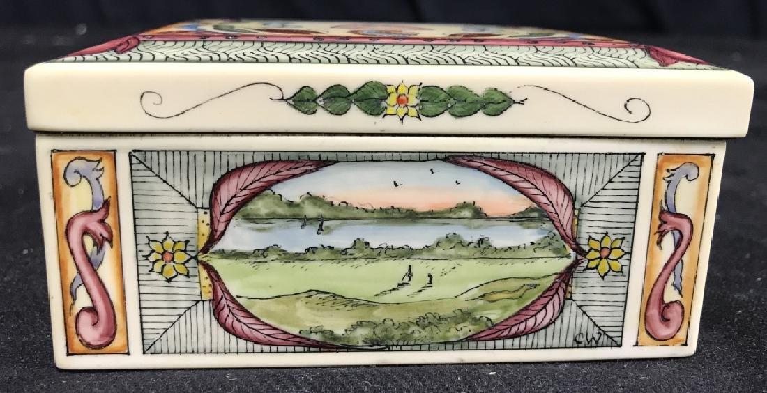 Shinnecock Hills Painted Keepsake Box - 5