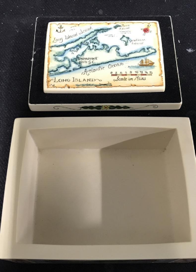 Shinnecock Hills Painted Keepsake Box - 8