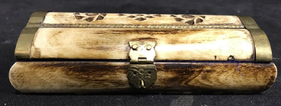 Bone & Brass Keepsake Box