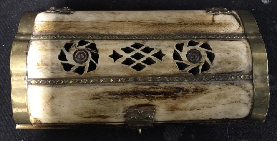 Bone & Brass Keepsake Box - 2