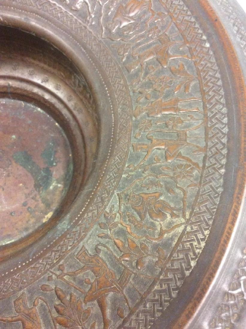 Lot 2 Bronze Toned Metal Tableware - 3
