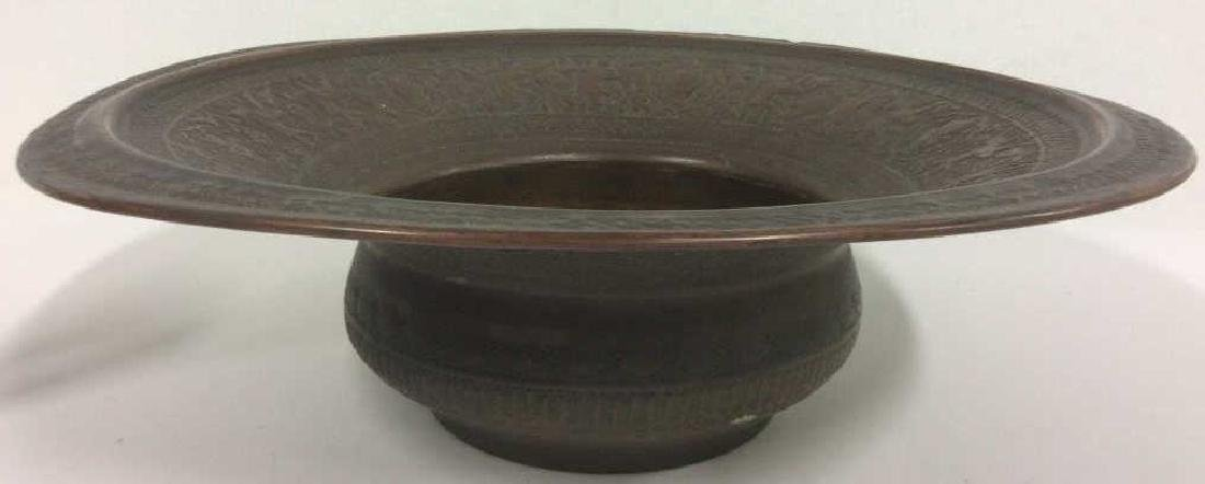 Lot 2 Bronze Toned Metal Tableware - 4
