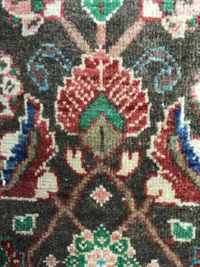 Vintage Handmade Persian Wool Rug C 1950's - 10