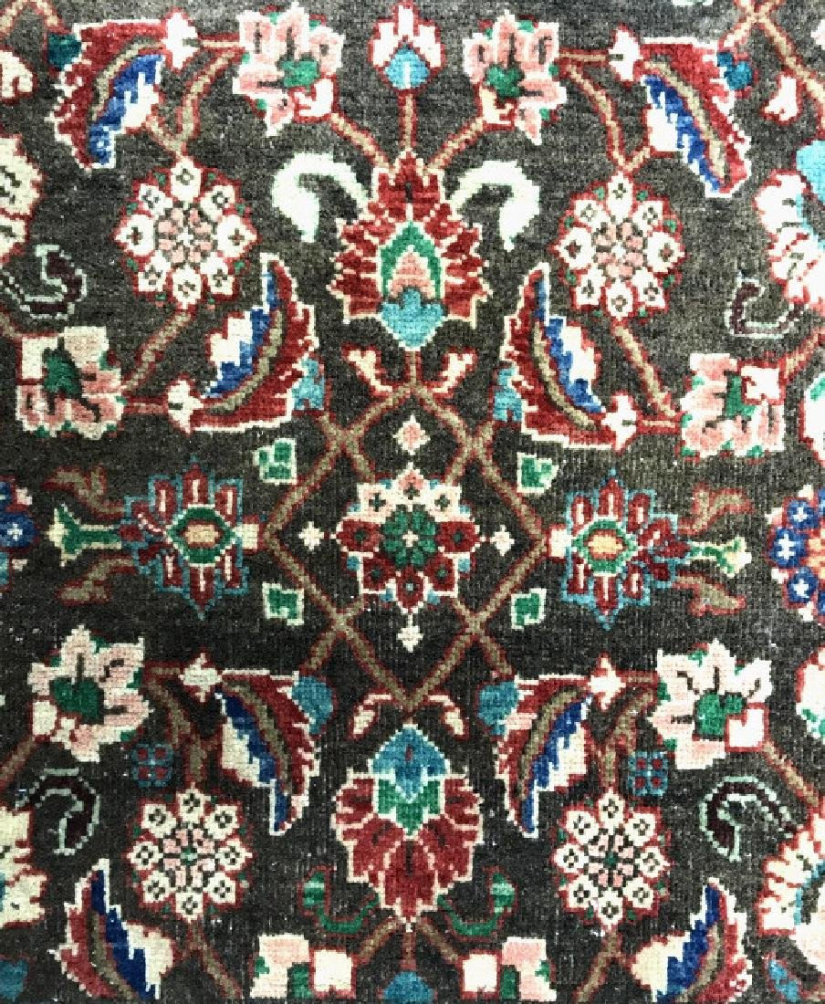 Vintage Handmade Persian Wool Rug C 1950's