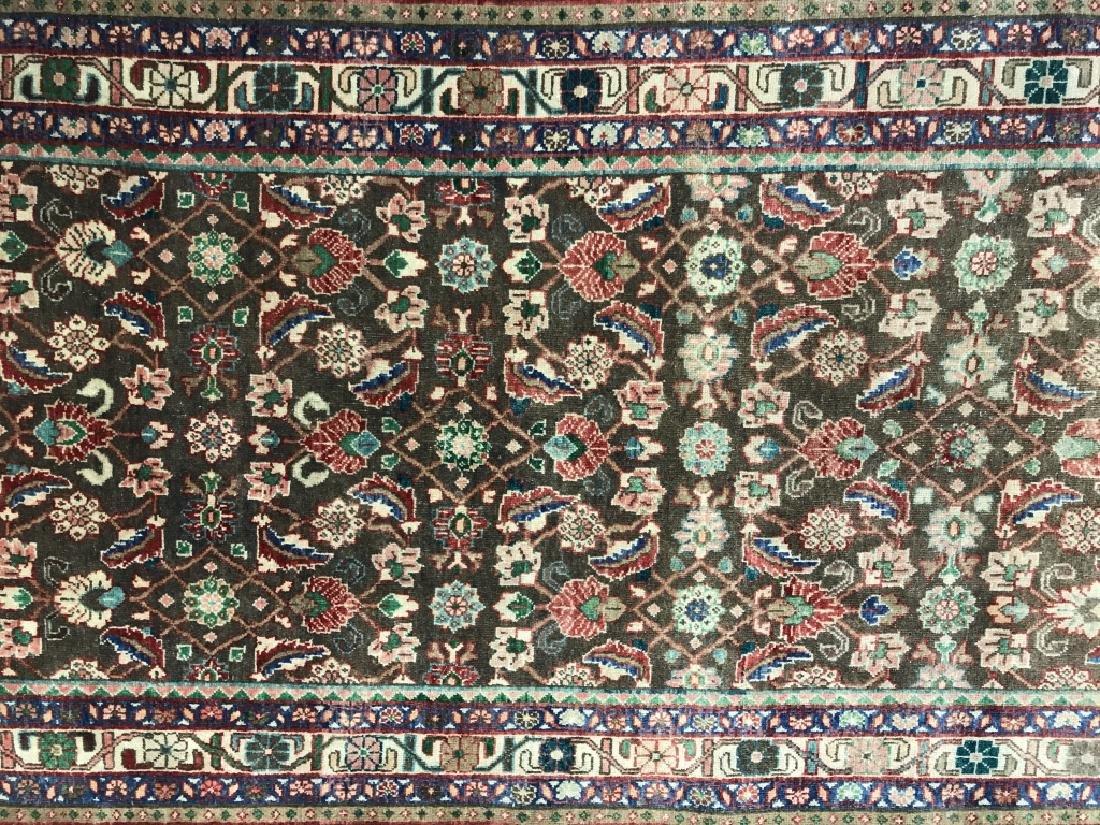Vintage Handmade Persian Wool Rug C 1950's - 2