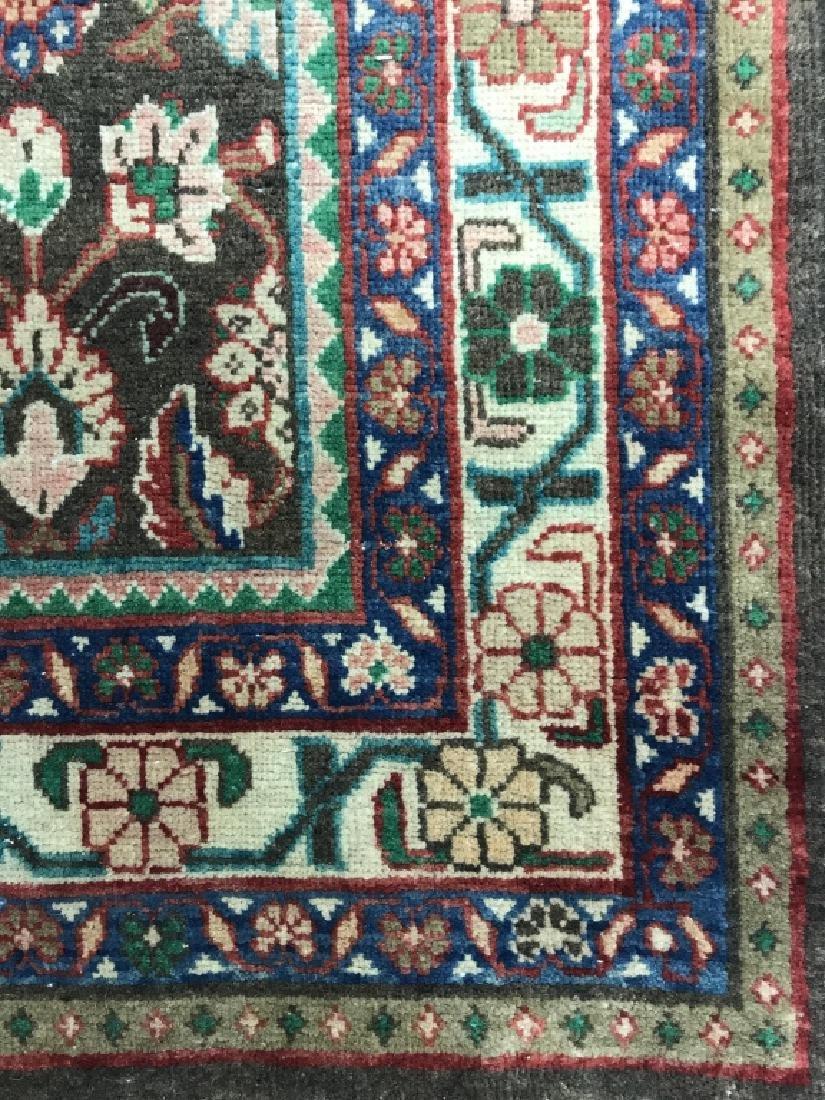 Vintage Handmade Persian Wool Rug C 1950's - 4