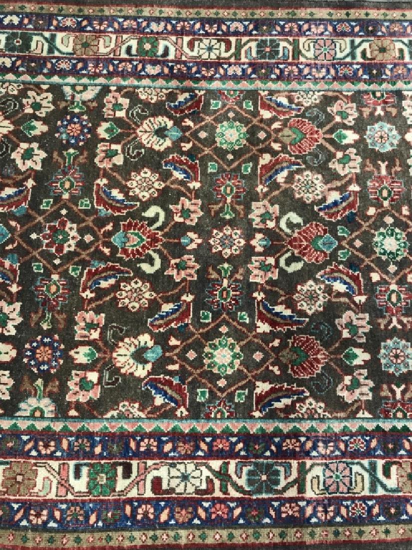 Vintage Handmade Persian Wool Rug C 1950's - 7