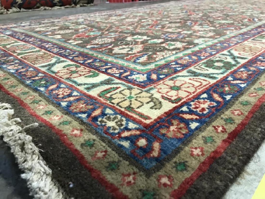 Vintage Handmade Persian Wool Rug C 1950's - 8