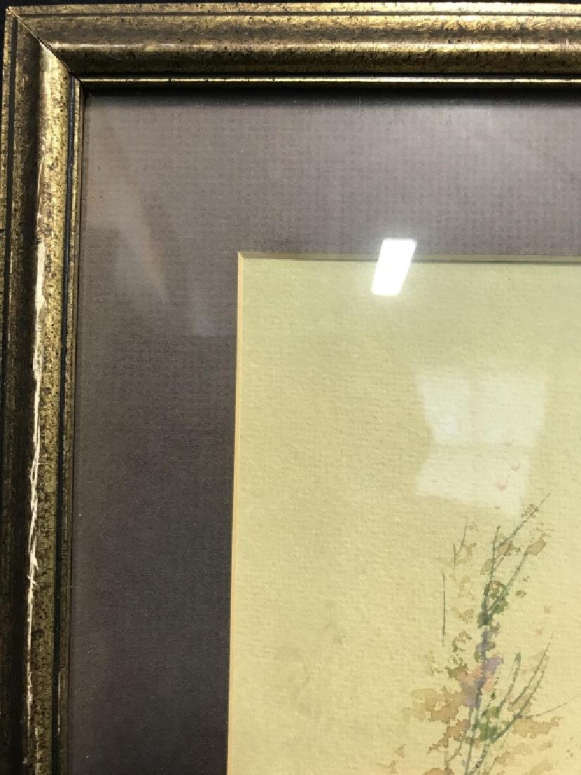 Watercolor Of Country Stream Signed T. Montgomery - 6