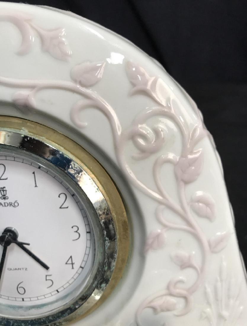 Lladro Porcelain Clock - 4
