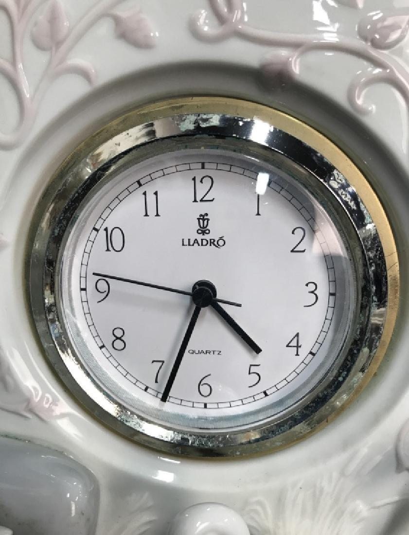 Lladro Porcelain Clock - 5
