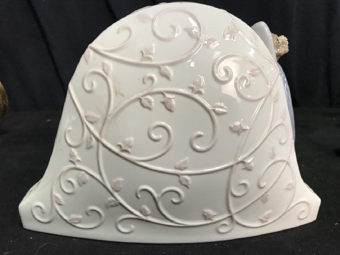 Lladro Porcelain Clock - 8