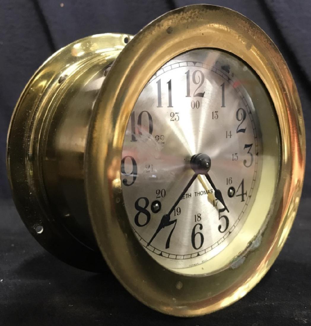 Seth Thomas Ships Bell Clock