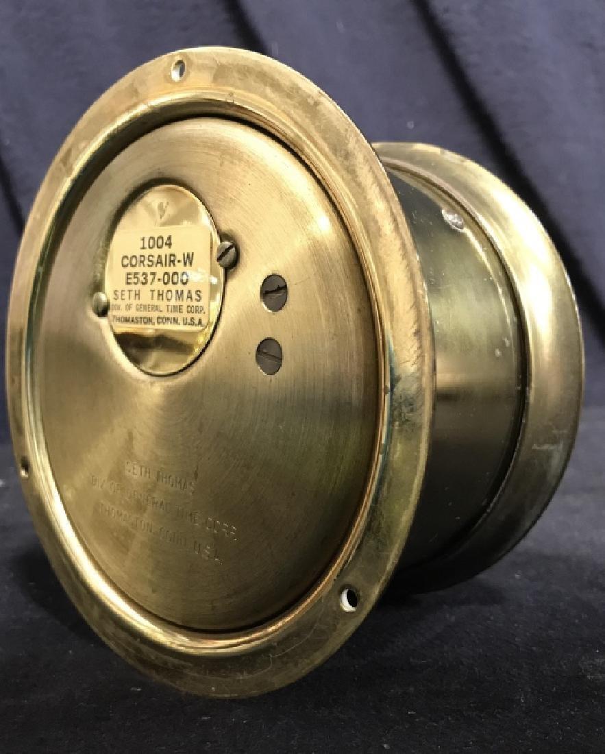 Seth Thomas Ships Bell Clock - 8