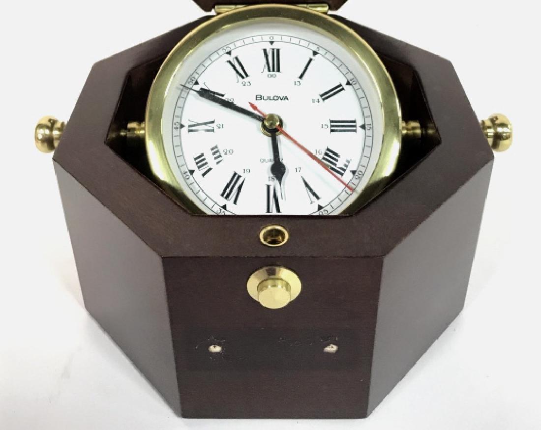BULOVA MARINE CLOCK BOX