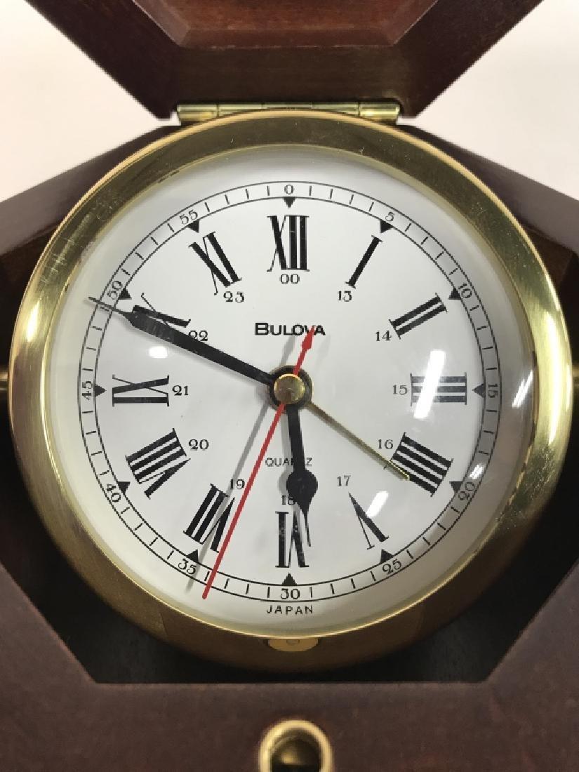 BULOVA MARINE CLOCK BOX - 2