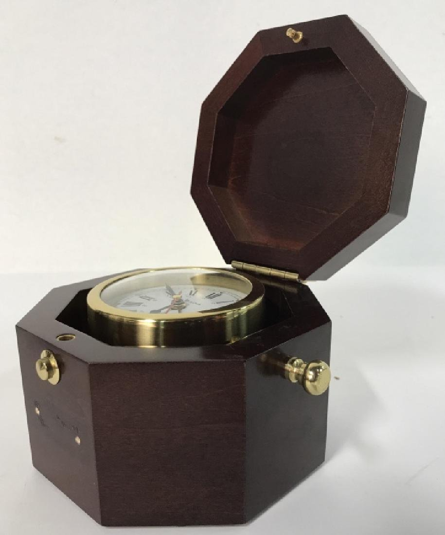BULOVA MARINE CLOCK BOX - 4