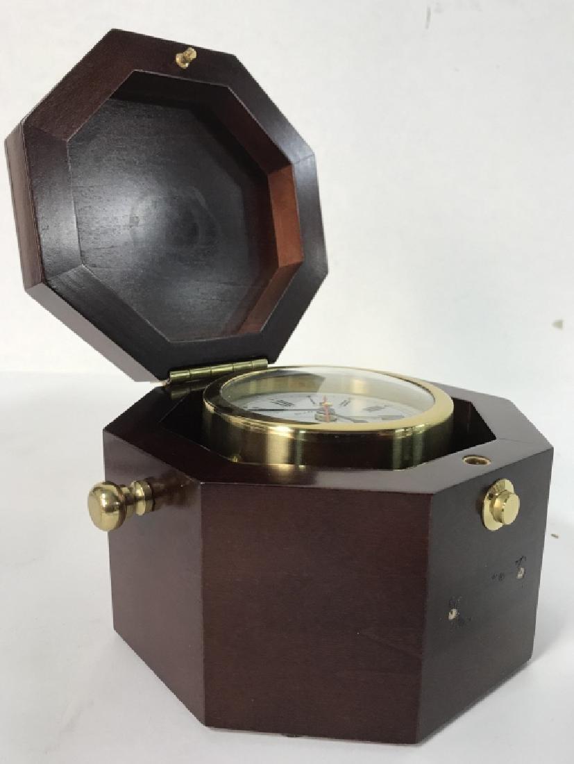 BULOVA MARINE CLOCK BOX - 5