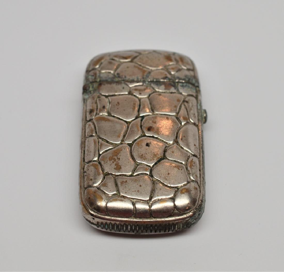 19th Century Silverplated Match Safe - 3