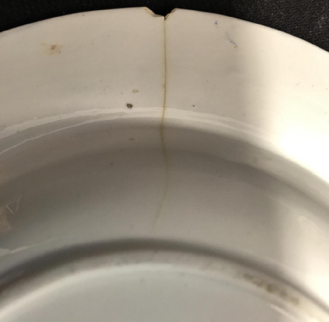 Set 5 Ashworth Ironstone Ceramic Porcelain Plates - 10