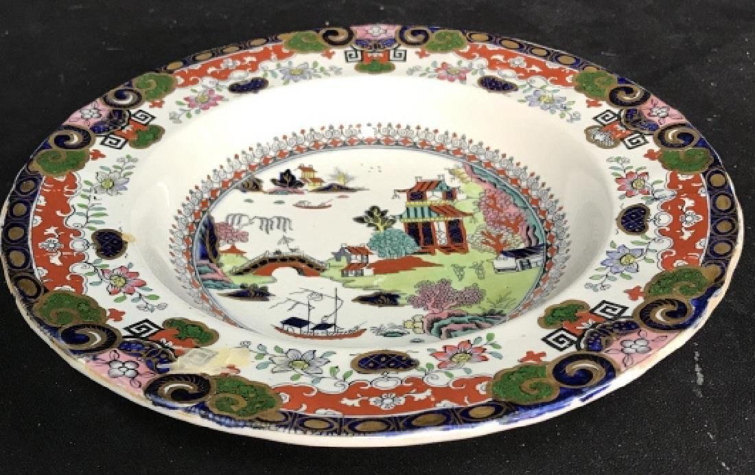 Set 5 Ashworth Ironstone Ceramic Porcelain Plates - 2