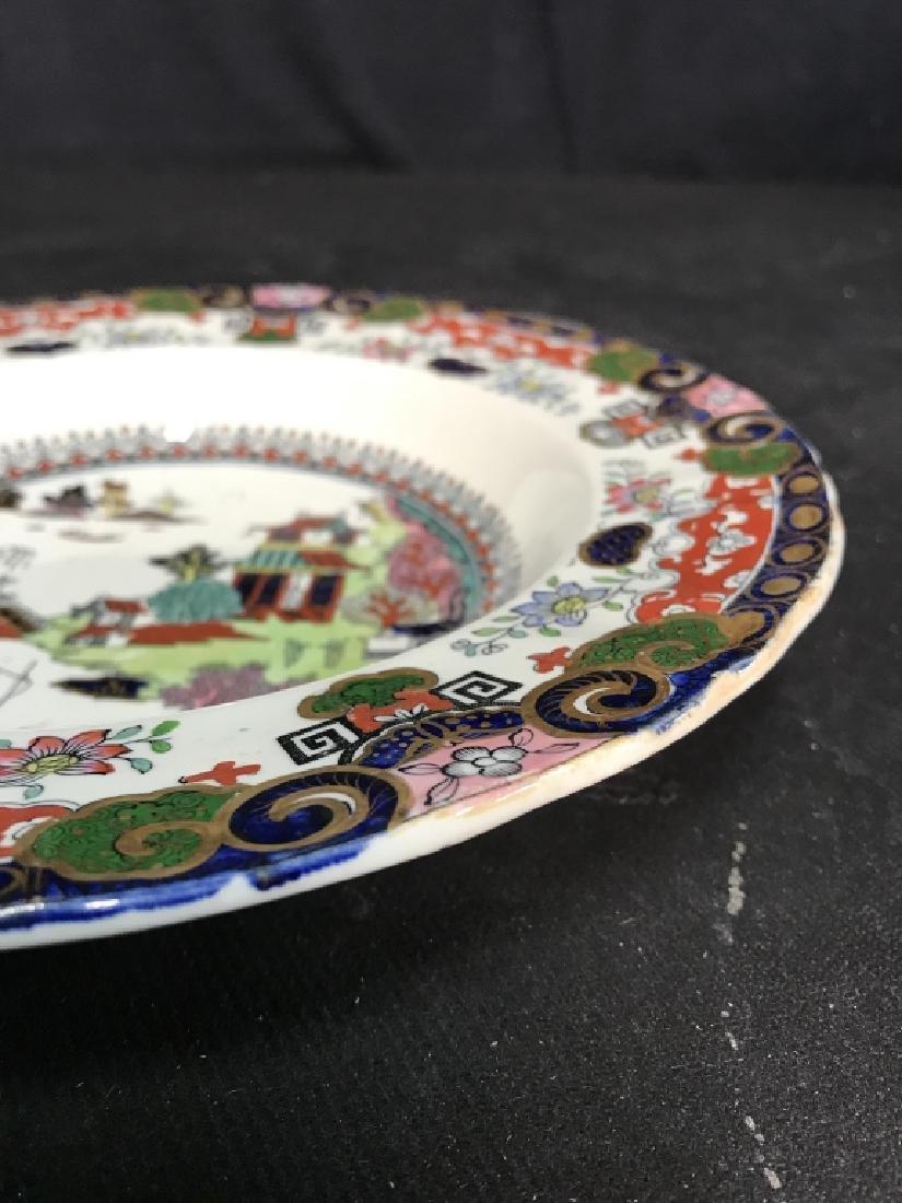 Set 5 Ashworth Ironstone Ceramic Porcelain Plates - 3