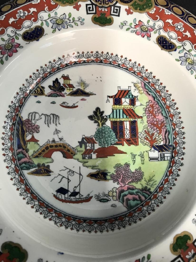 Set 5 Ashworth Ironstone Ceramic Porcelain Plates - 4