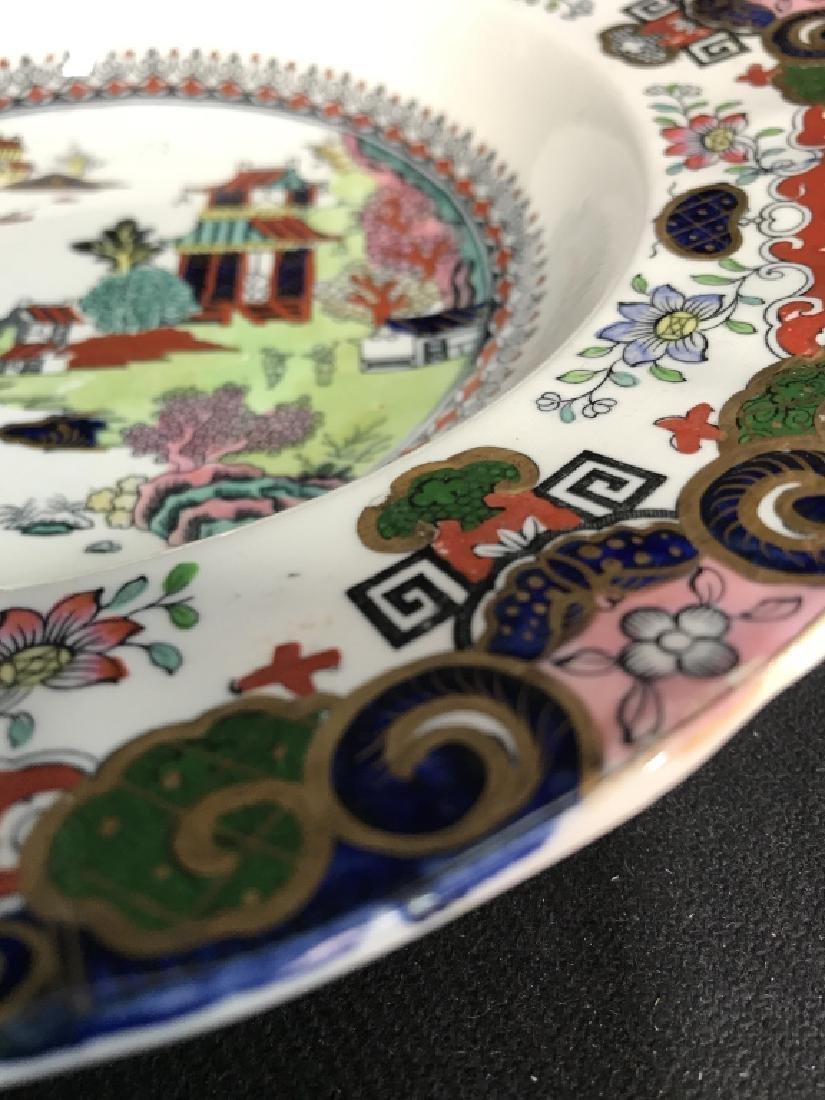 Set 5 Ashworth Ironstone Ceramic Porcelain Plates - 6
