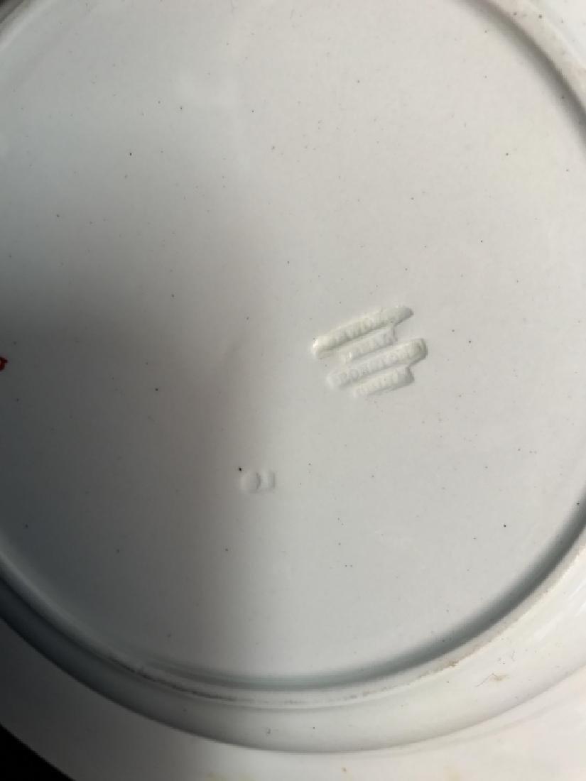 Set 5 Ashworth Ironstone Ceramic Porcelain Plates - 7