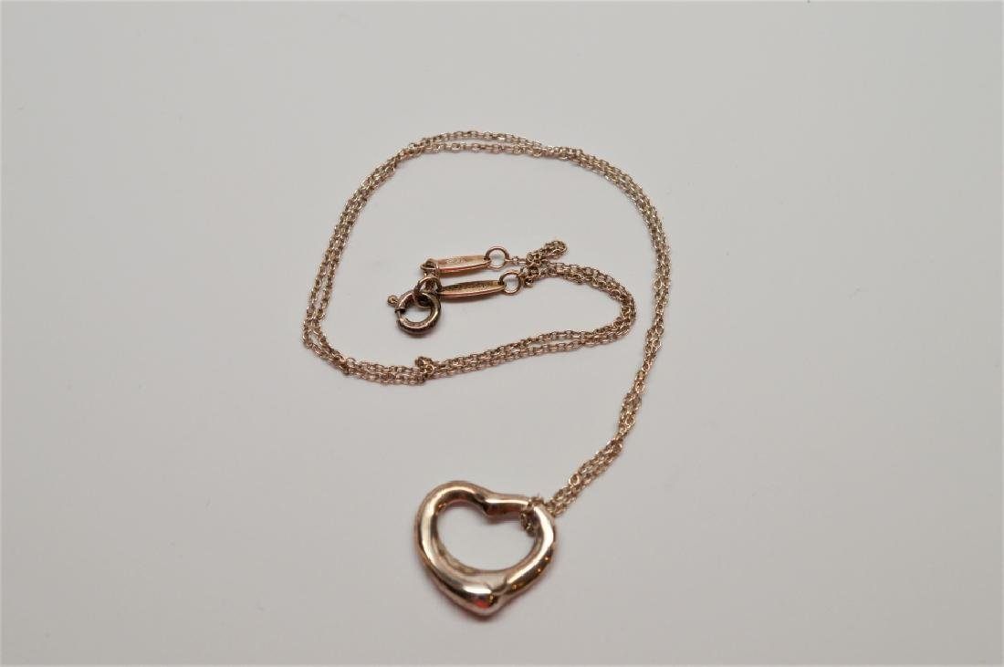 Tiffany Sterling Silver Heart Necklace - 2
