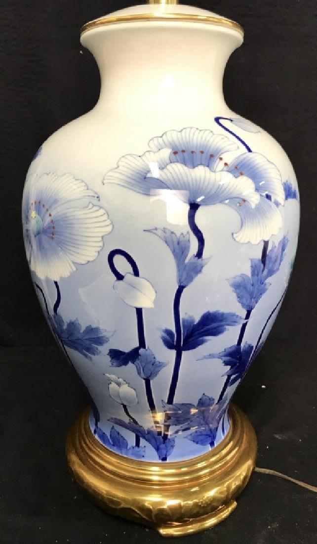 MABRO Oriental Porcelain Lamp