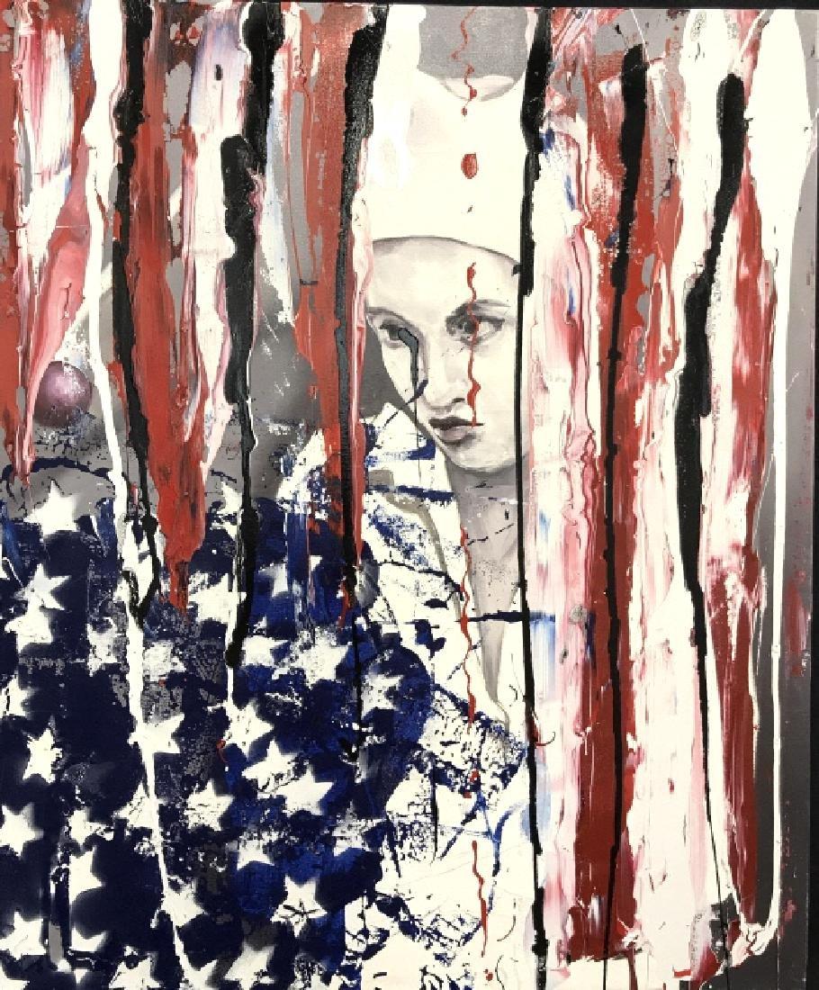 DAVID MCLAIN AMERJESTER Painting On Canvas