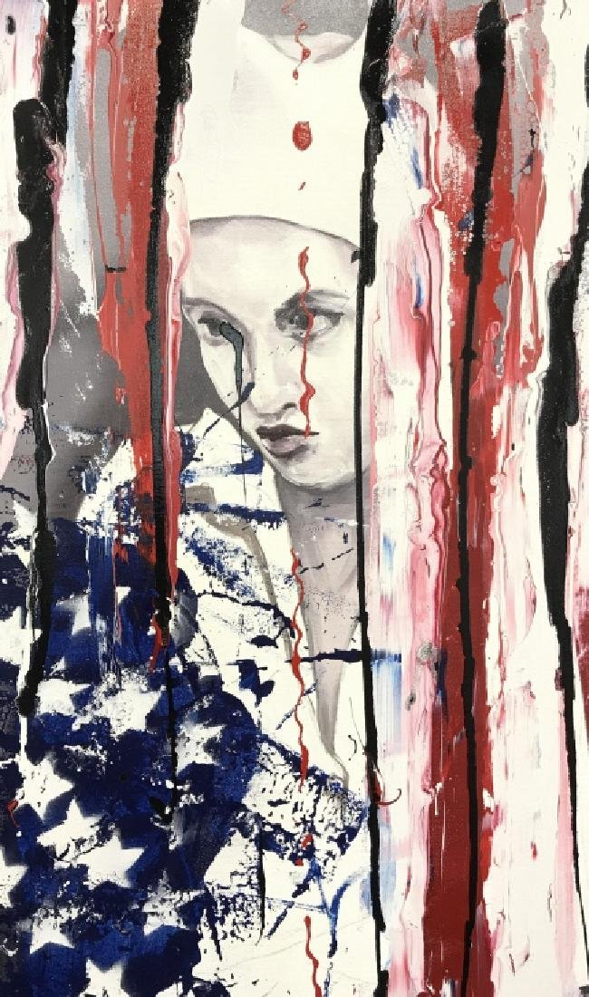 DAVID MCLAIN AMERJESTER Painting On Canvas - 2
