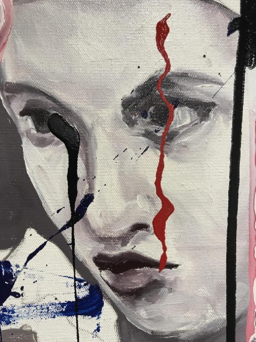 DAVID MCLAIN AMERJESTER Painting On Canvas - 4