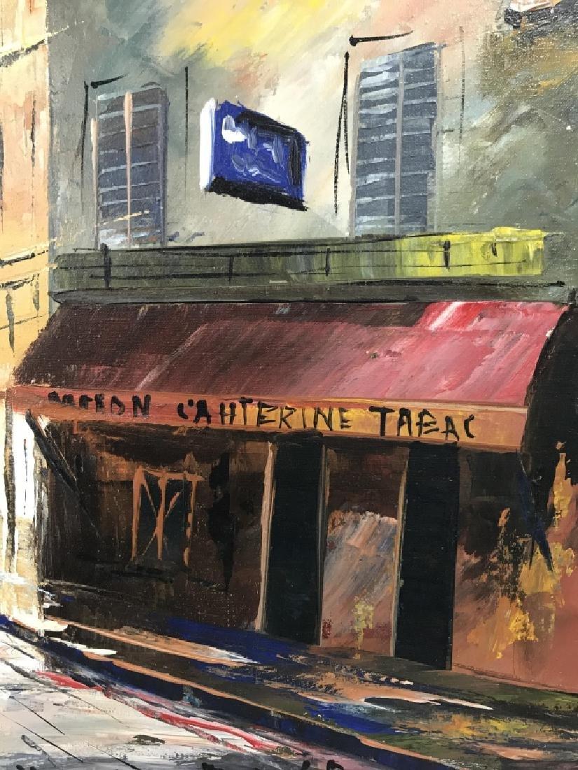 Hernandez Paris 68 Oil On Canvas Painting - 5