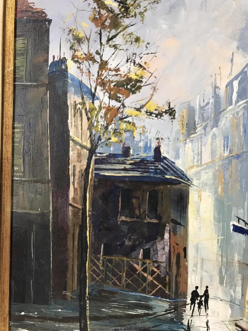 Hernandez Paris 68 Oil On Canvas Painting - 7
