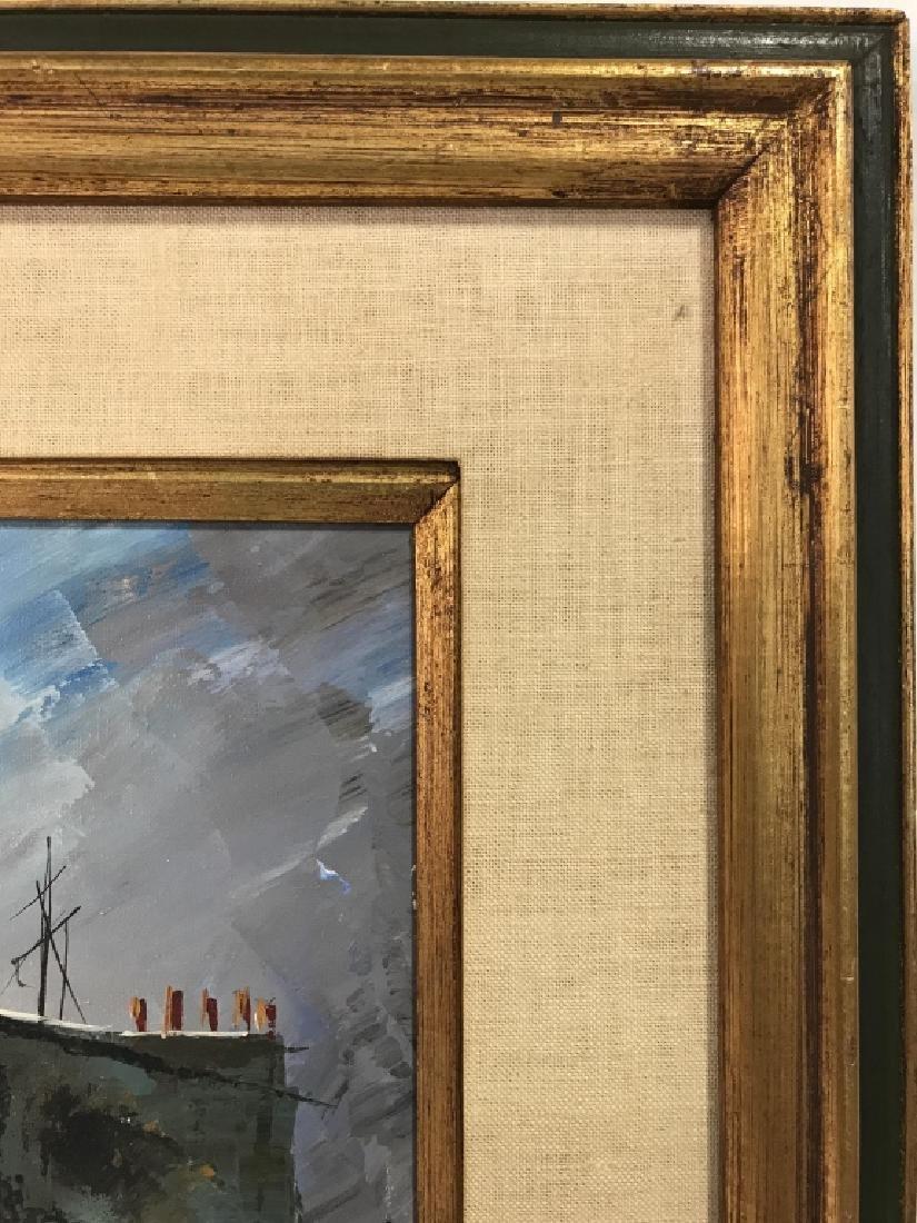 Hernandez Paris 68 Oil On Canvas Painting - 8