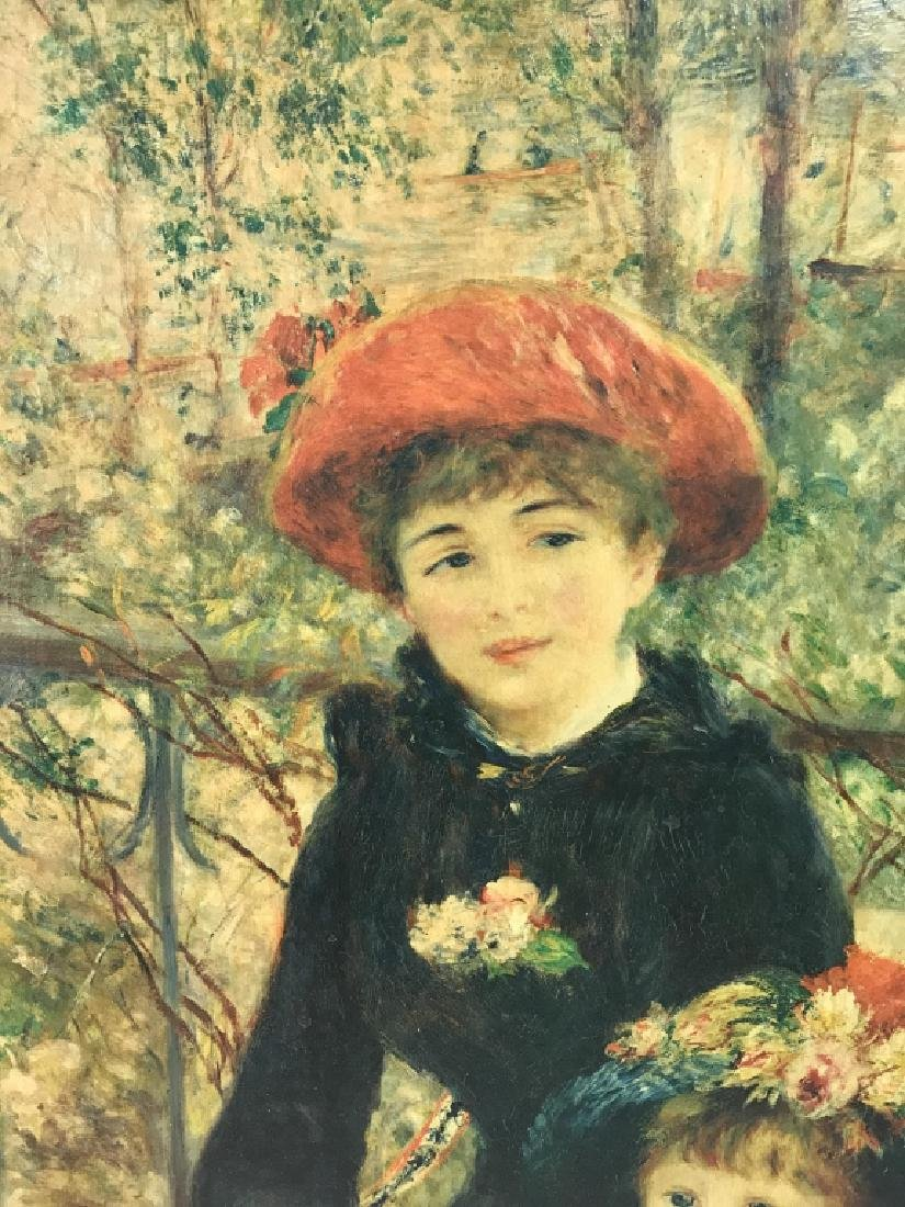 Auguste Renoir On The Terrace Print on Canvas - 3