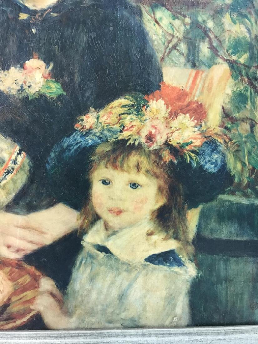 Auguste Renoir On The Terrace Print on Canvas - 4