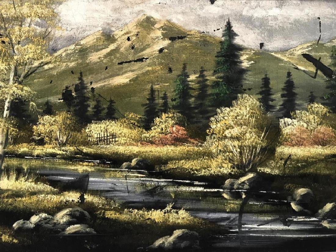 FELIX Painting Of Wooded Landscape - 3