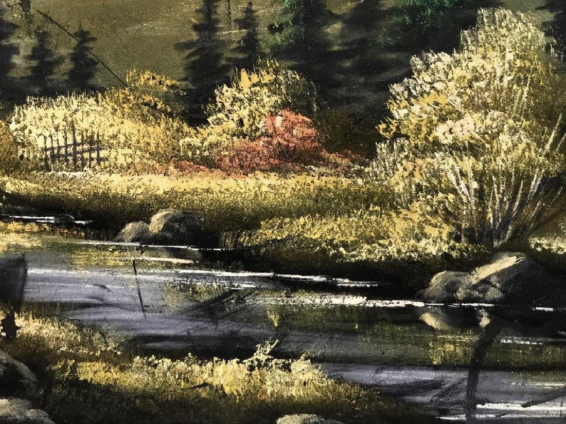 FELIX Painting Of Wooded Landscape - 4