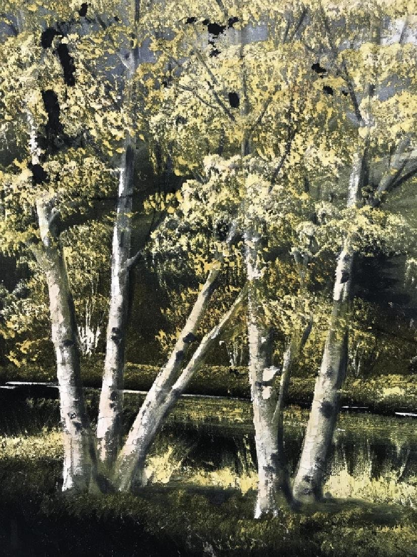 FELIX Painting Of Wooded Landscape - 5