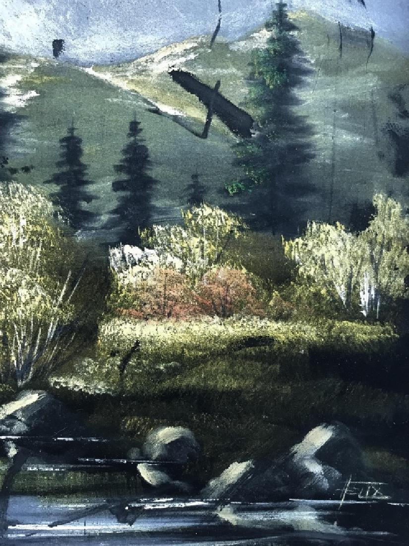 FELIX Painting Of Wooded Landscape - 6