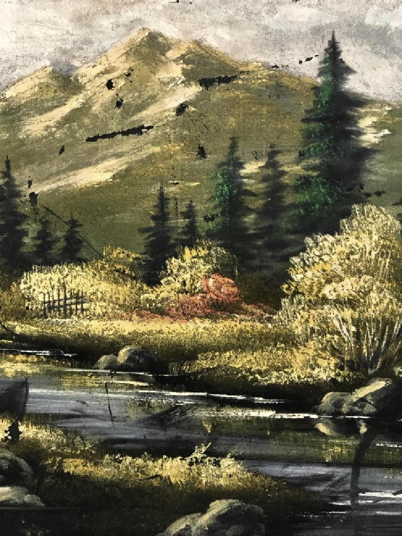 FELIX Painting Of Wooded Landscape - 8