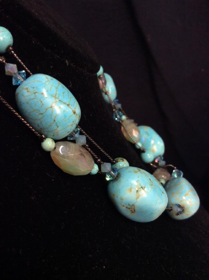 DABBIE REID Natural Stone Bead Necklace - 2