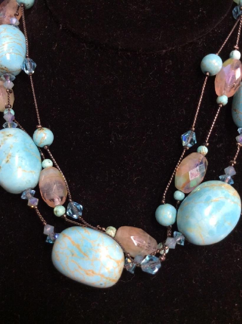 DABBIE REID Natural Stone Bead Necklace - 3